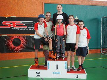 RMCS : championnat régional de roller freestyle à Angers. Roller Maine Coeur de Sarthe